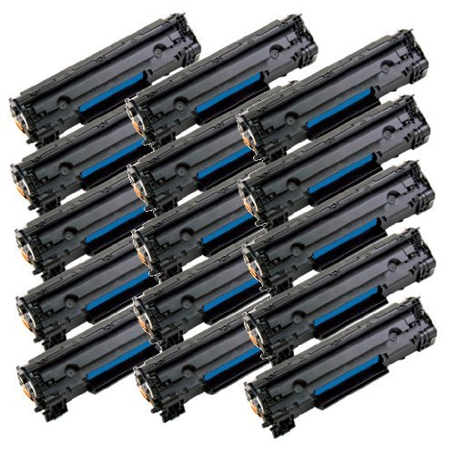 2inkjet 125 Compatible Toner Cartridge Fits Canon 125 (3484B001AA) ImageClass LBP6000, LBP6030w, ImageClass MF3010 (1 Pack Black) Photo #4