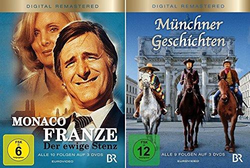 Monaco Franze + Münchner Geschichten im Set - Deutsche Originalware [6 DVDs]