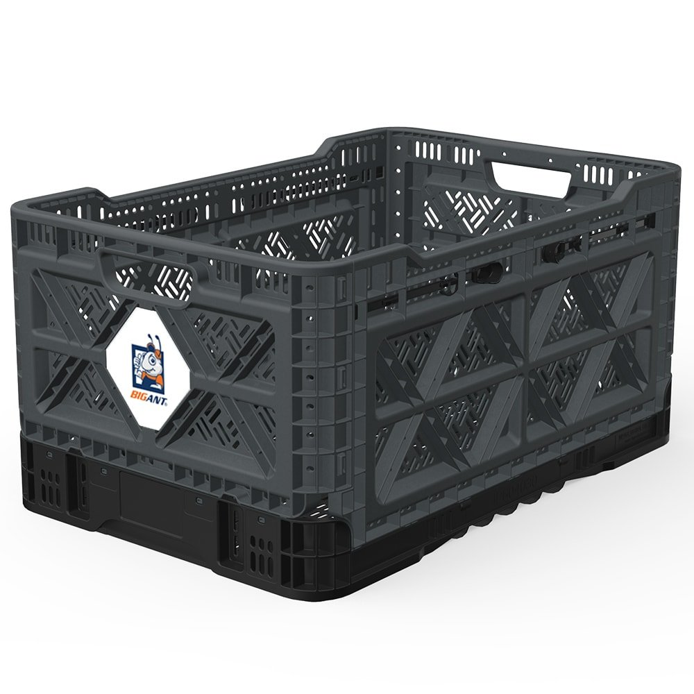 BIGANT Heavy Collapsible Stackable Plastic