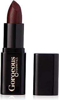 Gorgeous Cosmetics Cream Finish Lipstick with Vitamin E, Vixen, 4g