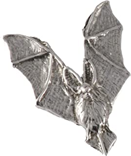 Brooch M005MP Whitetail Deer Leaping Pewter Mini Lapel Pin Jewelry