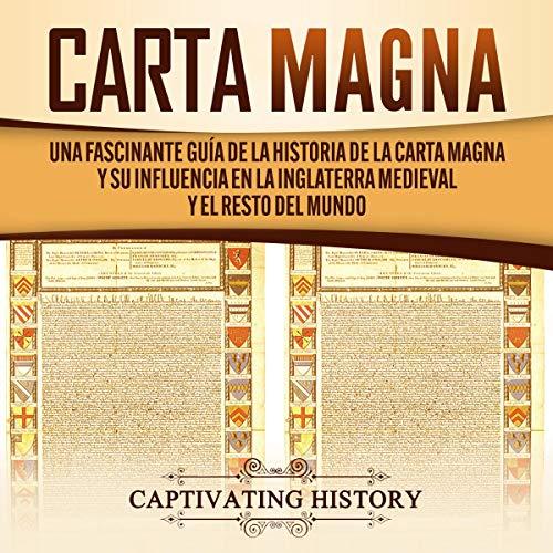Diseño de la portada del título Carta Magna