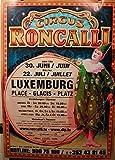 Circus Roncalli–Zirkus–60x 85zeigt/Poster