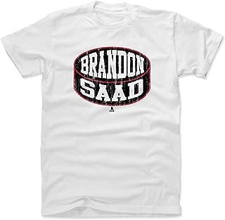500 LEVEL Brandon Saad Shirt - Chicago Hockey Men's Apparel - Brandon Saad Chicago Puck