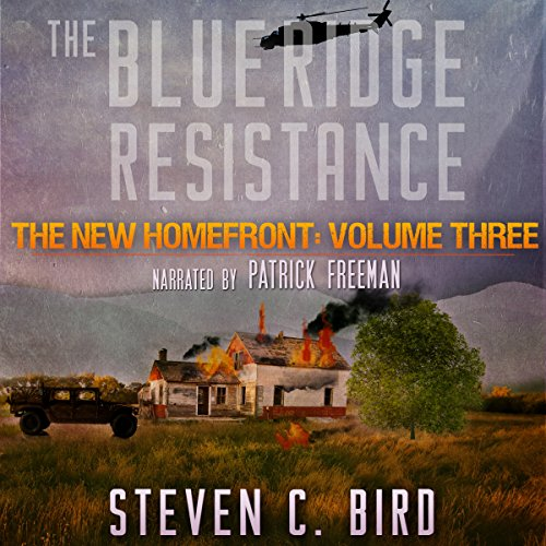 The Blue Ridge Resistance audiobook cover art
