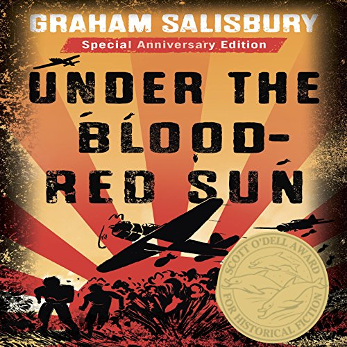 Under the Blood-Red Sun audiobook cover art