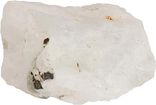 GEMHUB Piedra lunar blanca natural bruta de cristal crudo de 36,50 quilates, piedra lunar sin tratar, piedra de luna ásper...