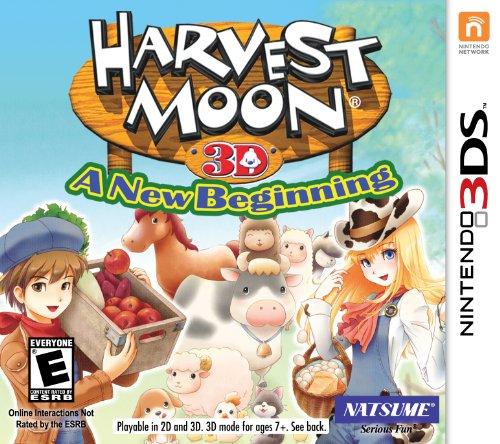 Harvest Moon: A New Beginning - Nintendo DS