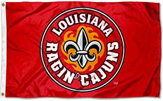 College Flags and Banners Co. Louisiana Lafayette Ragin Cajuns Flag