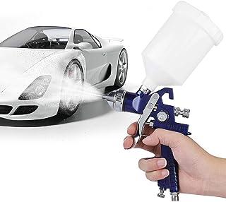 """تفنگ اسپری ، 1 ست نازل 1/4 """"0.8 mm / 1.4 mm 600ml / 125ml تفنگ اسپری پنوماتیک نوع جاذبه برای نقاشی اتومبیل"""
