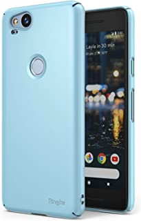 Ringke Slim Compatible with Google Pixel 2 Case Snug-Fit Slender Tailored Cutouts Lightweight, Thin Scratch Resistant Dual...