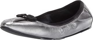 Joy Ballet Flat Metallic Silver 7.5