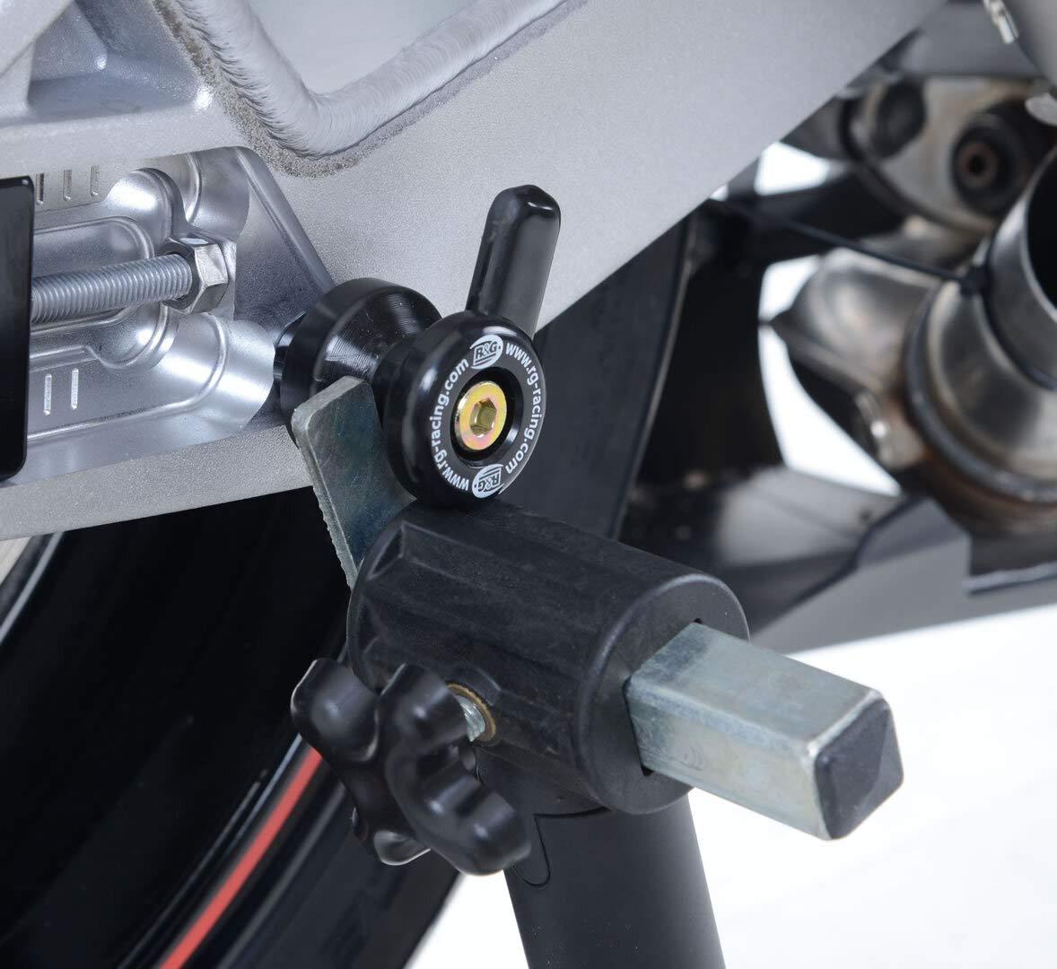 R/&G Racing Products CR0032BK Cotton Reels BMW S1000RR 10-// S1000R 14-// Triumph Street Triple R 13-16 RX 765 RS//R//S 17