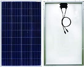Sonali Solar 100 Watts (100 W X 1 Pcs) 12 Volts Polycrystalline Solar Panel with MC4 connectors. ETL Certified High Efficiency Module.