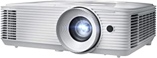 Optoma EH412 1080P HDR DLP Professional Projector   Super Bright 4500 Lumens   Business Presentations, Classrooms, and Meeting Rooms   15000 Hour Lamp Life   4K HDR Input   Speaker Built in (Renewed)