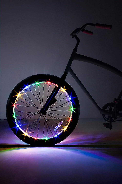 Brightz WheelBrightz LED Bicycle Wheel Accessory Light (for 1 Wheel), Multicolor
