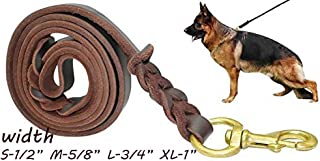 schutzhund leather lead