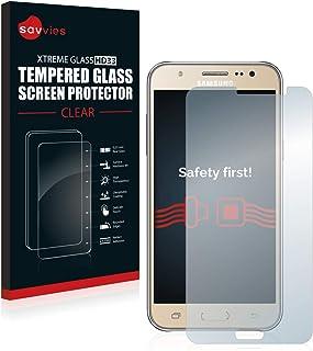 comprar comparacion savvies Cristal Templado Compatible con Samsung Galaxy J7 2016 Protector Pantalla Vidrio Proteccion 9H Pelicula Anti-Huellas