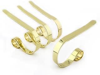 The Original MantleClip, 4 Pack - Brass
