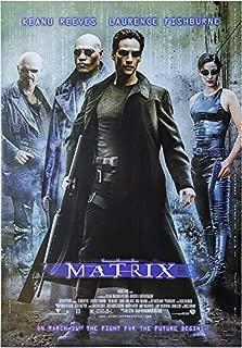 The Matrix Movie Poster US Version 24x36
