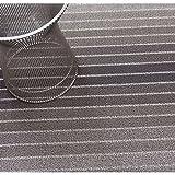Chile Grünwich Felpudo Block Stripe Taupe 46x 71cm