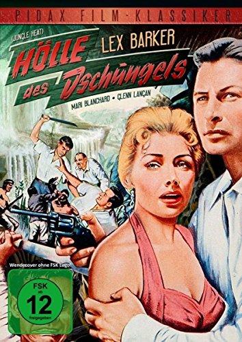 Hölle des Dschungels (Jungle Heat) - Spannender Abenteuerfilm mit Lex Barker (Pidax Film-Klassiker)