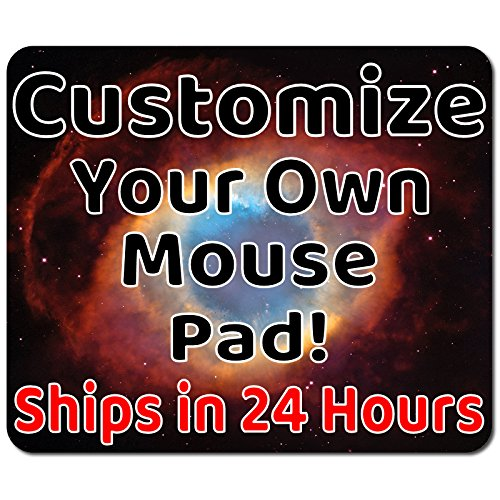 Personalized Mouse Pad - Add Pictures, Text, Logo or Art Design and Make Your Own Customized Mousepad. Each Custom Mouse Mat Comes in a Colorful Gift Bag. Personalized Your Gaming Mousepad