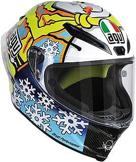 agv corsa winter test le helmet