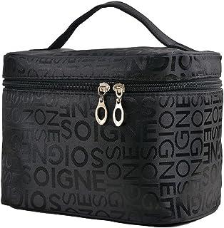Cosméticos maquillaje bolsa & organizador para las mujeres tren caso StyleTravel kit organizador para cepillos artículos d...