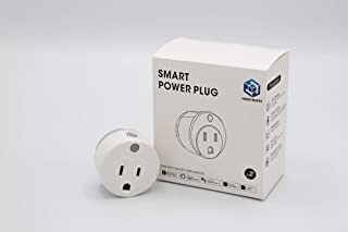 Smart Plug Wi-Fi, Wireless, Hub-less, offset and Compatible with Alexa and Google Home & Remote Control Your Devices from Anywhere