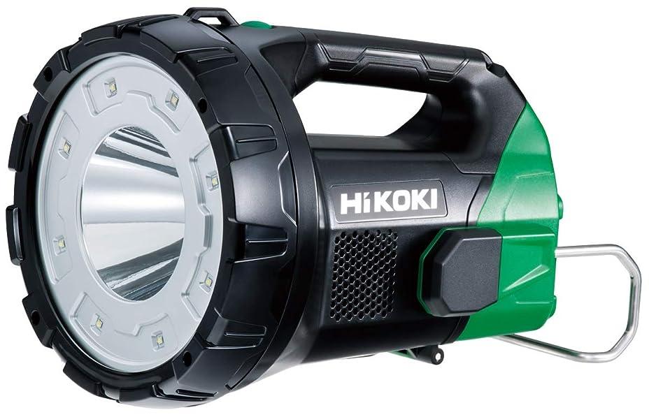 正当化する日没青HiKOKI(ハイコーキ) 旧日立工機 コードレスサーチライト 蓄電池?充電器別売り UB18DA(NN) 奥行28×高さ20.4×幅20.3cm