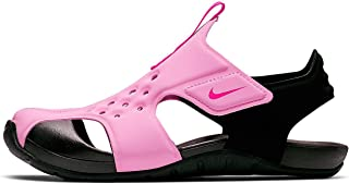Nike Boys' Sunray Protect 2 (ps) Beach & Pool Shoes, Multicolour (Psychic Pink/Laser Fuchsia/Black 602)