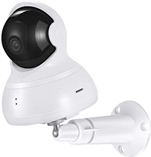 Wall Mount for YI Dome Camera and YI Cloud Home Camera, 360 Degree Adjustable Security Bracket Holder for YI Cam (Camera Not Included) (White)
