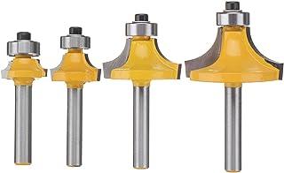 Uncoated Bright 3 Flute .0938 Radius .3750 Shank Diameter .1150 Single End Corner Rounding Carbide Endmill RedLine Tools 4.0000 OAL RCR1701180