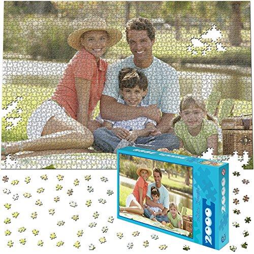 Fotopuzzle 2000 Teile, 90x60cm - Individuelles Puzzle mit Foto-Schachtel