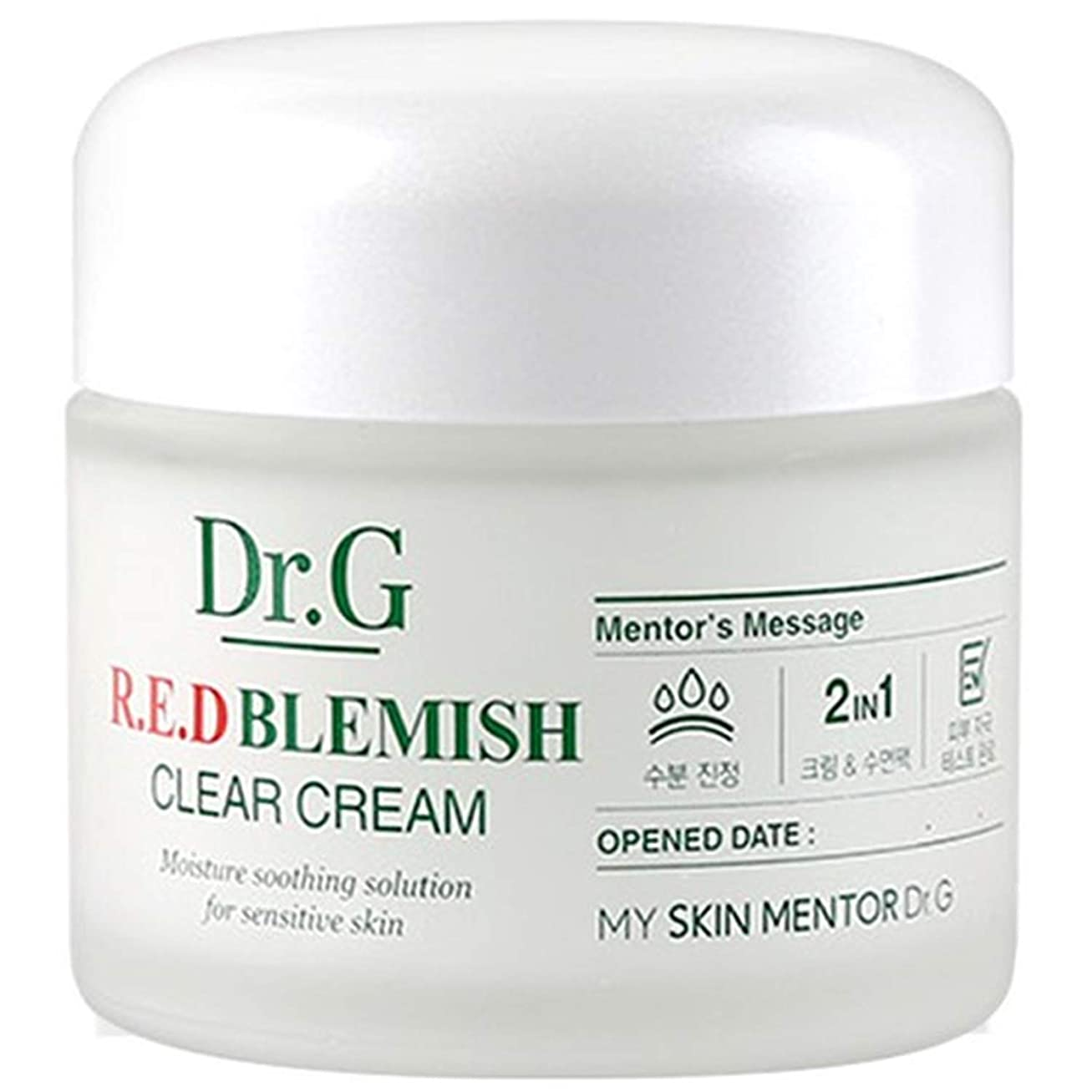 自然ビート植生Dr. Red Blemish Clear Cream ドクタージー レッド ブレミッシュ クリアー クリーム