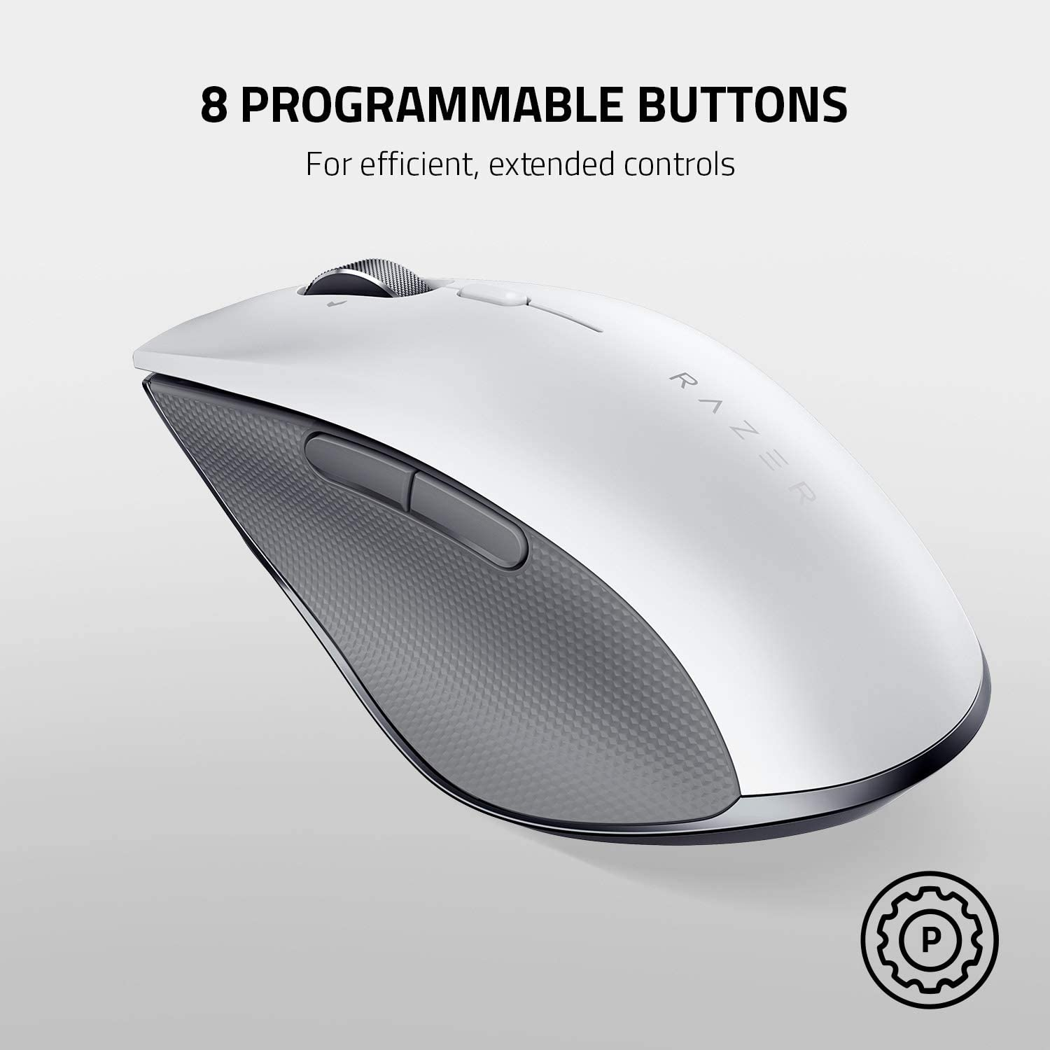8 Programmable Buttons