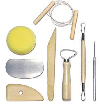 Royal & Langnickel RSET-POT1 Set Complet outils Poterie 8 pièces