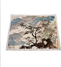Zara Henry Japanese Fluffy Blanket, Pine Trees on The Hills Fleece Throw Blanket Gifts for Mom