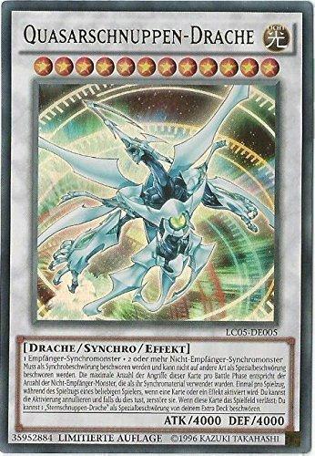 Yu-Gi-Oh! Quasarschnuppen Drache - Limitierte Auflage - Deutsch
