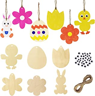 Best easter wood ornaments Reviews