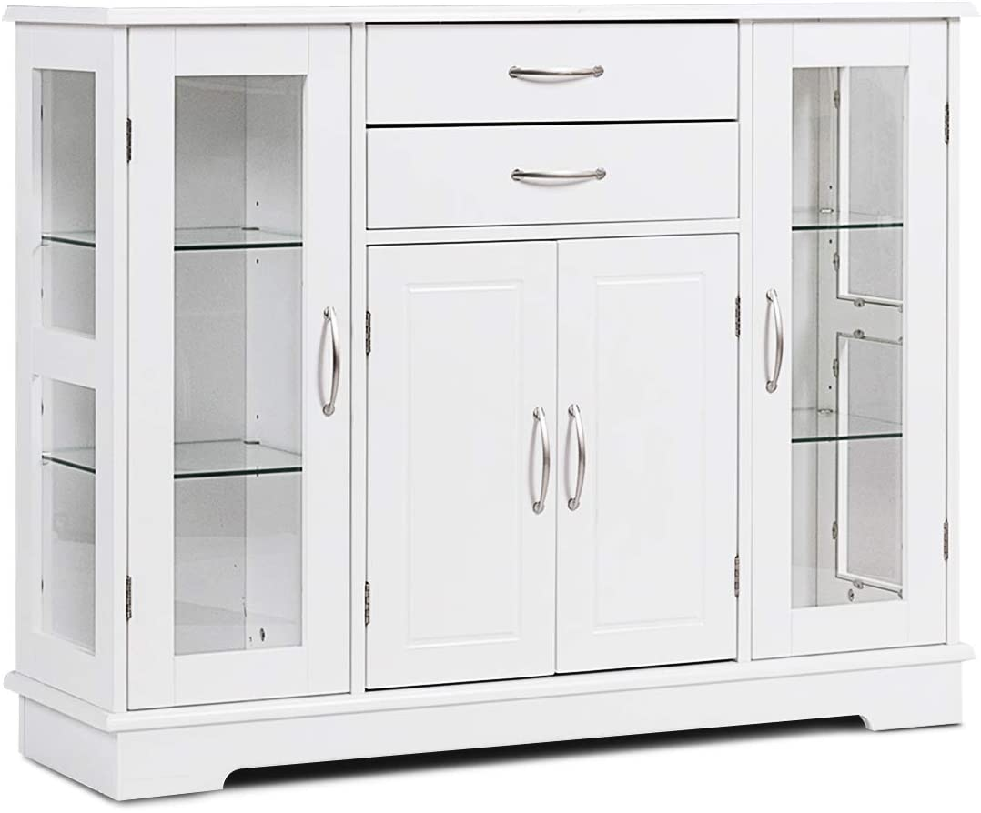 Save money Karlory Sideboard Buffet Server Storage Table Cabinet Ki Console Free shipping
