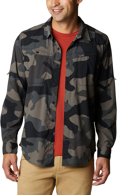 Columbia Men's Newton Ridge Printed Long Sleeve Shirt