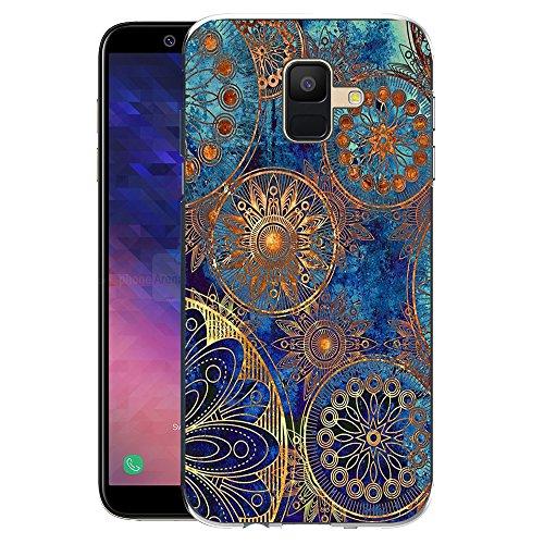 Samsung Galaxy A6 2018 Handy Tasche, FoneExpert® Ultra dünn TPU Gel Hülle Silikon Case Cover Hüllen Schutzhülle Für Samsung Galaxy A6 2018