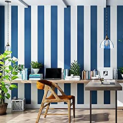 Blooming Wall: Modern Stripes Peel-and-Stick Paint Wallpaper