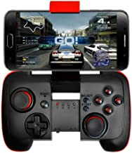 Wireless bluetooth Controller Gamepad Joytick Gaming for Android Cell Phone, PC Tablet, Samsung Gear VR, Game Boy Emulator (Red)