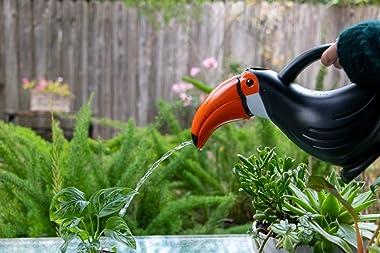 Brilliest Toucan Watering Can Indoor/Outdoor - Cute Watering Can - Bird Shaped Plastic Watering Can - Great for Plants/Indoor
