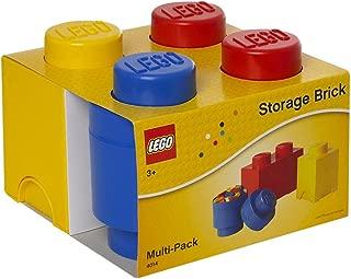 LEGO Storage Box Brick Multipack 3 Set Mix (Red, Blue, Yellow)
