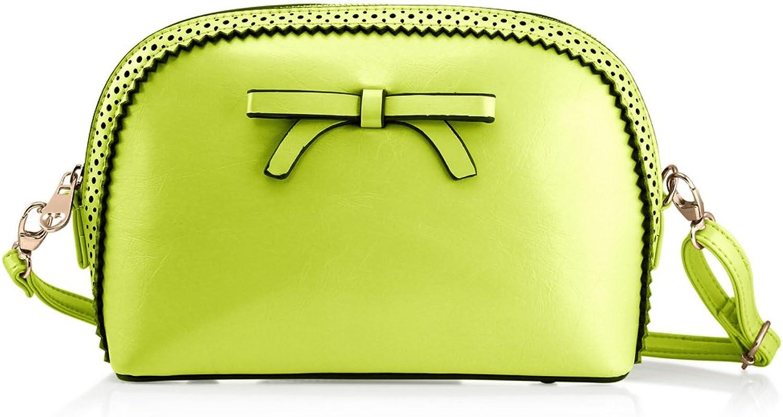 GEARONIC TM Fashion Women Handbag Bow Tie Shoulder Bags Crossbody Purse Leather Lady Messenger Hobo Bag