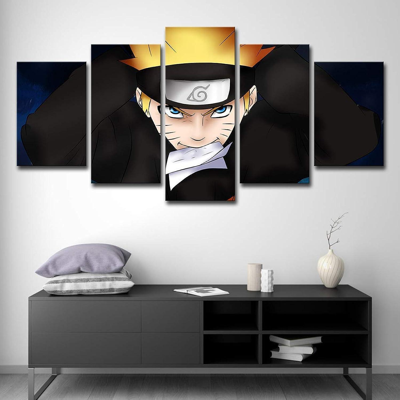 venta al por mayor barato KISlink KISlink KISlink Lienzo de 5 Piezas de Parojo Arte Cochetel de animación de Naruto Impresión en Lienzo Pintura Modular con Marco, A, 20 y Tiempos; 35 y Tiempos; 220 y Tiempos; 45 y Tiempos; 220 y Tiempos; 55 y  hermoso